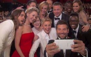 Un #selfie da Oscar