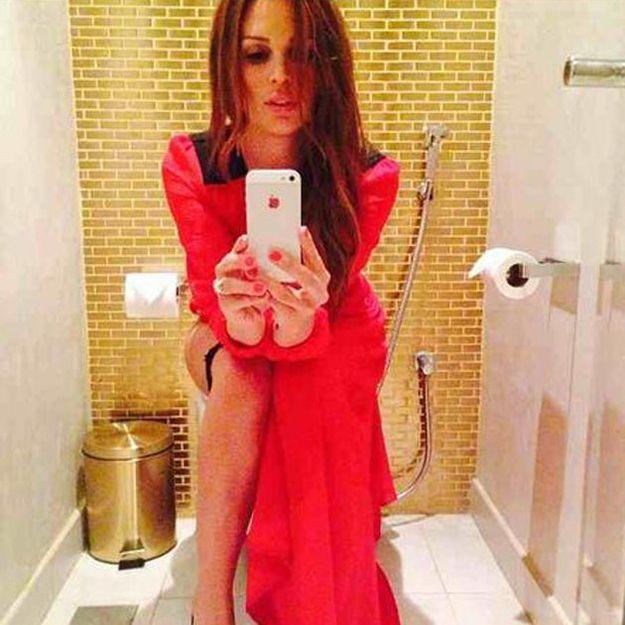 Selfie in the bathroom