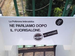 la poltrona de Il Milanese Imbruttito