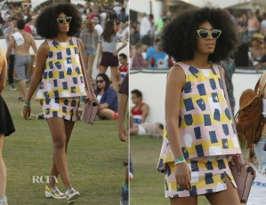 Solange Knowles - a tutto Seventies