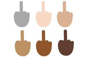 Midlle finger